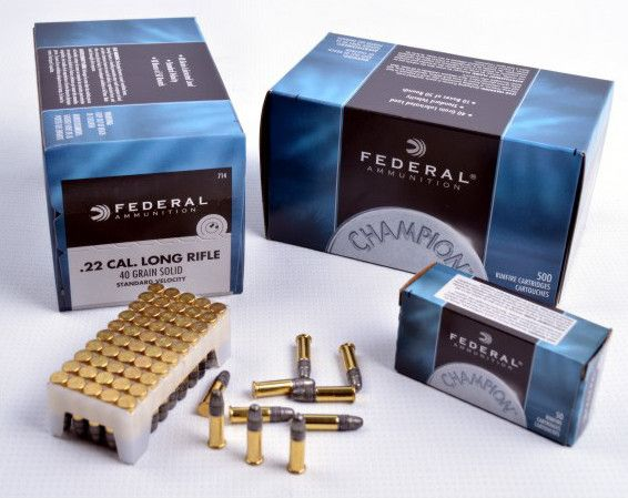 balas 22 lr federal champion 40gr sp x 50 triestina